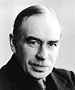 John Maynard Keynes, economista anglès.