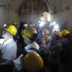 Castell de Sant Ferran - Visitant les cisternes