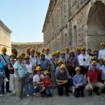 Castell de Sant Ferran - Preparats per visitar les cisternes