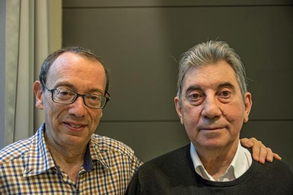 Toni Muñoz i Josep Catà